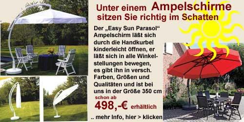 sonnenschirme gartenmoebel fachgesch ft gro mann. Black Bedroom Furniture Sets. Home Design Ideas